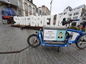 Campagne d'affichage pour l'agence immobilière LA MAIZON